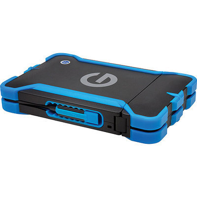 G-Technology G-Drive ev ATC External Hard Drive with Thunderbolt, 7200RPM, Rugged All-Terrain Case, evolution series compatible - 1TB