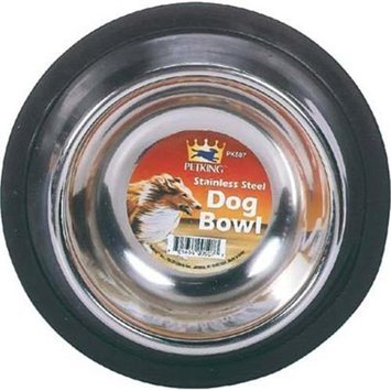 Bulk Buys Dog Bowl Stainless Steel Small - Case of 12