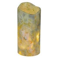 Meyda Tiffany 121495 Jadestone Light Green Uneven Top Candle Cover