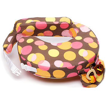 My Brest Friend Original Nursing Pillow - Warm Dots