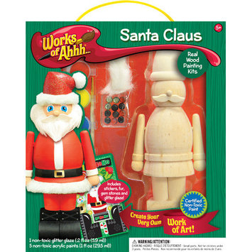 Masterpieces Works of Ahhh Santa Clause Wood Paint Kit
