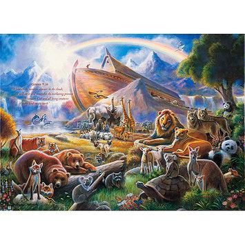 Masterpeice Puzzle 30840 20. 32 x 20. 32 x 5. 588cm Noah's Ark 500 Piece Jigsaw Puzzle
