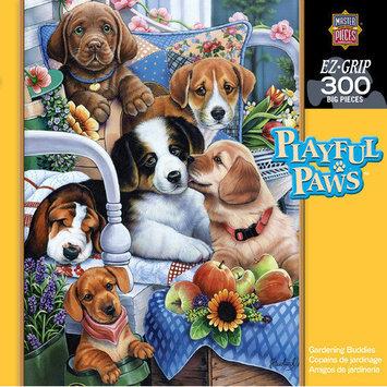 MasterPieces Jenny Newland Gardening Buddies 300 Piece Jigsaw Puzzle