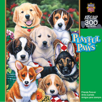 MasterPieces Jenny Newland Friends Forever 300 Piece Jigsaw Puzzle