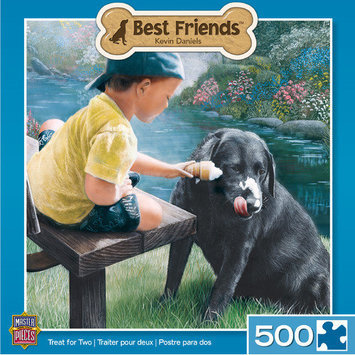 MasterPieces Kevin Daniels Treat for Two 500 Piece Jigsaw Puzzle