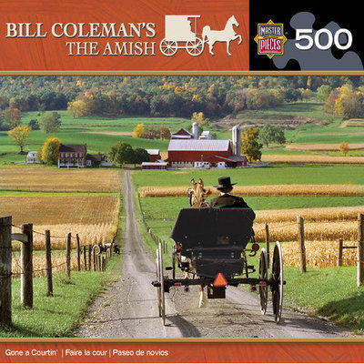 MasterPieces Bill Coleman Gone a Courtin 500 Piece Jigsaw Puzzle