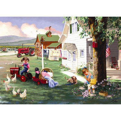 Masterpeice Puzzle 71215 Country Chores