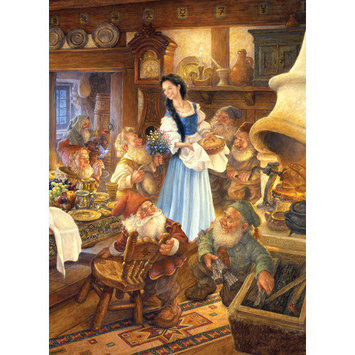 Masterpeice Puzzle 71237 Snow White and the Seven Dwarves