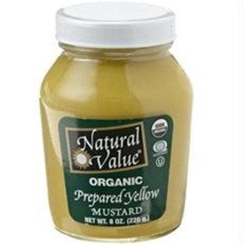 Natural Value B18861 Natural Value Mustard Yellow Organic -12x8oz