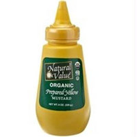 Natural Value B18860 Natural Value Yellow Mustard Organic Squeeze -12x8oz