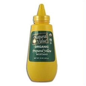 Natural Value B18867 Natural Value Yellow Mustard -12x16oz