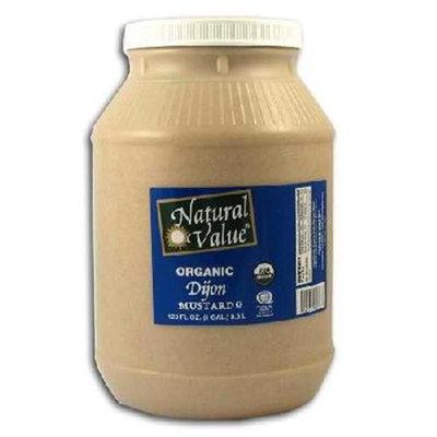 Natural Value Dijon Mustard (4x1 gal )