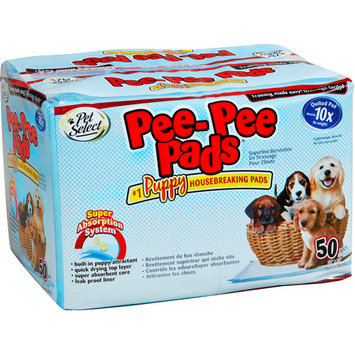 Four Paws 50-Count Small Puppy Training Pads 91635