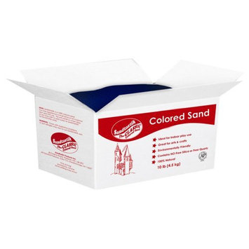 Sandtastik Colored Play Sand-10 lbs. Brown Sand