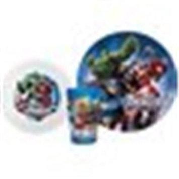 Zak Designs Boys 3pc Dinnerware Set - Avengers