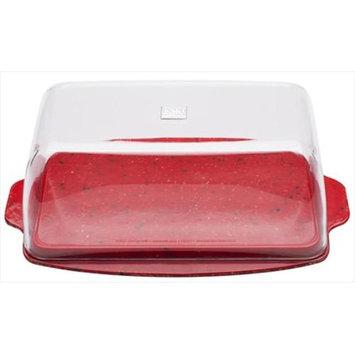 Zak Designs Sprinkles Red Zak Design Sprinkles Red 0078-9935 7 In. Multi-Purpose Dish Pack Of 6
