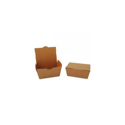 Southern Champion Tray 4 lb, 7-3/4 W x 5-1/2 D x 3-1/2 H, ChampPak Carryout Boxes, Brown, Includes 160 Containers 734
