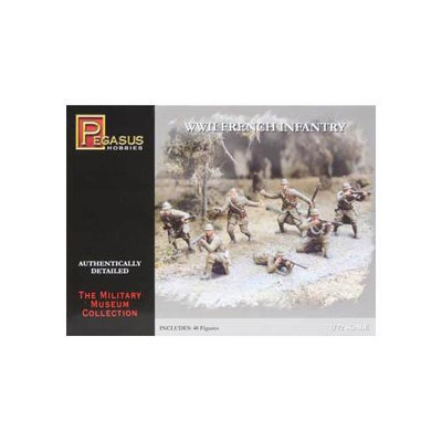 7306 1/72 WWII French Infantry PGHS7306 PEGASUS HOBBIES