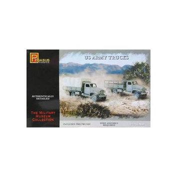 7651 1/72 US Army Trucks (2) PGHS7651 PEGASUS HOBBIES