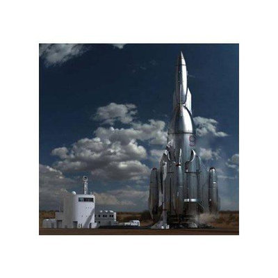 Pegasus Hobbies Pegasus Hobby Mercury 9 Rocket Model Kit PGHS9103