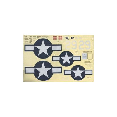 Top-flite TOP FLITE Decals Giant Corsair ARF TOPA1860 TOPA1860
