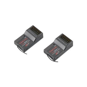 Tactic TR624 SLT 2.4GHz 6Ch Rx Receiver Only (2-Pack) TACL0623 Tic Tac