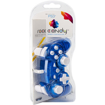 Performance Designed Products, Llc Performance Design Rock Candy Wired Controller For PlayStation 3 - Blue