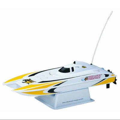 Hobbico Mini Wildcat Catamaran RTR Boat Multi-Colored