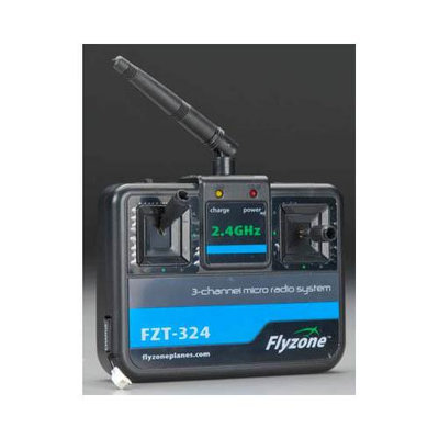 HOBBICO 3 Channel 2.4GHz Transmitter Playmate Micro RTF EP HCAL7600 HCAL7600