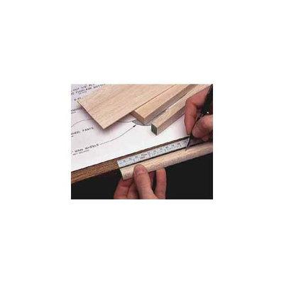 48 Adhesive Bench Ruler HCAR0465 HOBBICO