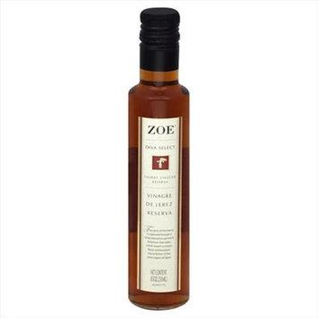 Zoe Diva Select Vinegar Rsrve Sherry 8.5 OZ -Pack Of 8