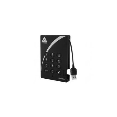 Apricorn Aegis Padlock A25-3PL256-1000 1TB External Hard Drive