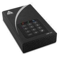 Apricorn ADT-3PL256-6000 6TB Aegis Padlock Dt Secure Ext USB 3 256-bit Aes Hw Desktop Drive