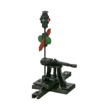 HO High Level Switch Stand w/Targets, Rigid - Caboose Industries - 103R
