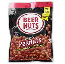 Original Beer Nuts Peg Bag - 3 oz. Bag - 12 ct. - Fruit & Nuts