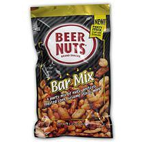 Bar Mix Beer Nuts Peg Bag - 3.25 oz. Bag - 12 ct.