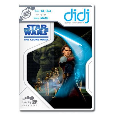 LeapFrog Didj Custom Learning Game Star Wars: The Clone Wars
