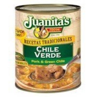 Juanita's Juanitas Chile Verde, 29.5-Ounce