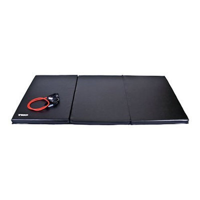 Tko Sports TKO Folding Exercise Mat - 4 x 8 ft.