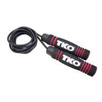 TKO Pro Line Leather Rope - Black