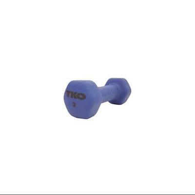 Tko Sports Neoprene Coated Dumbbell W/Tri-Grip Handle 177Nd-Bl-3