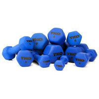 TKO Neoprene Dumbbell Blue 12 Lbs