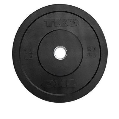 TKO Bumper Plate 15 Lbs