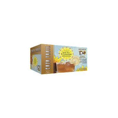 Caza Trail Summer's Iced Tea & Lemonade, Single Serve (12 ct. cups, 6 pk.)