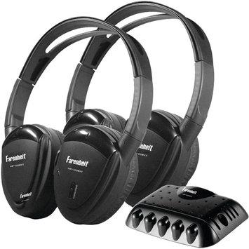 Power Acoustik HP-22IRT Wireless Headphones with ir Transmitter (Pair)