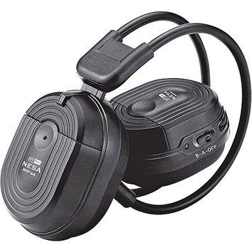 Power Acoustik Hp900s Swivel Ear Pad 2 Channel Wireless Headphones Hp-900s