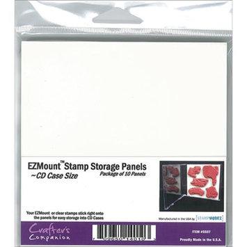 Crafters Companion Crafter's Companion EZMount CD Case Storage Panels 10/Pkg-4.75