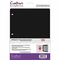 Crafters Companion EZMagnetic 2-N-1 Storage Panels - Full Size 10/Pkg
