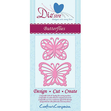 Crafters Companion Die'sire Cutting Die-Dancing Butterfly