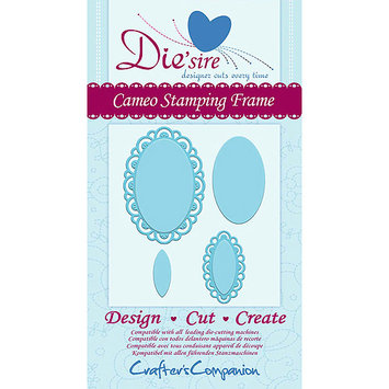 Crafters Companion DSCAMFR Diesire Cutting Die-Cameo Stamping Frame